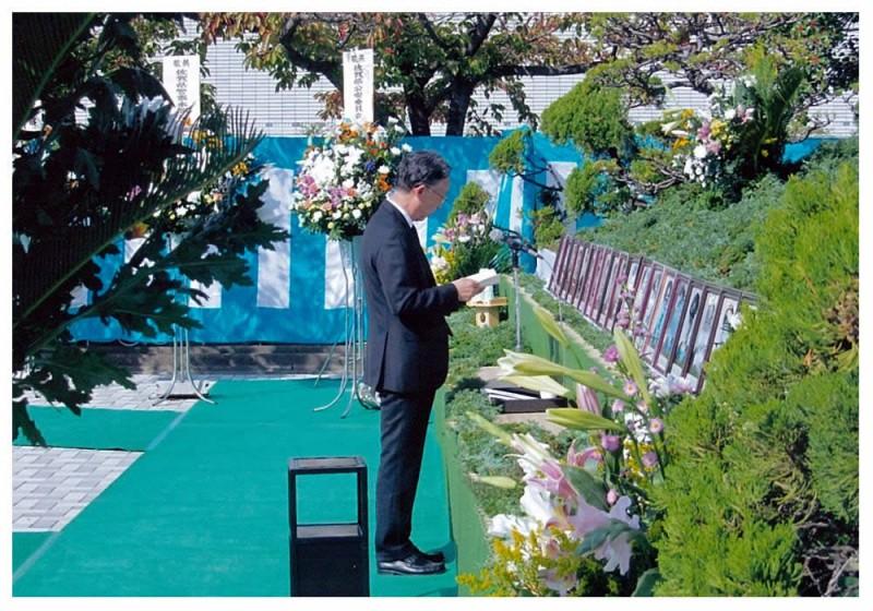 2012年10月29日 佐賀県殉職警察官慰霊祭