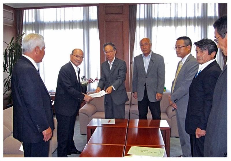 2012年9月13日 佐賀県私立学校協会からの要望