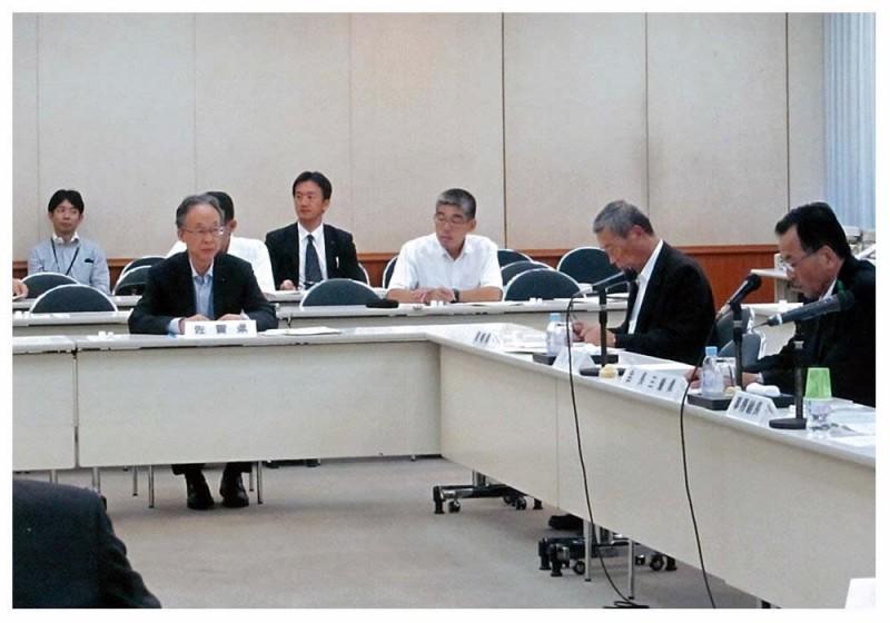 2012年9月11日 全国議長会役員会