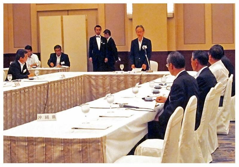 2012年8月22日 九州各県議会議長会
