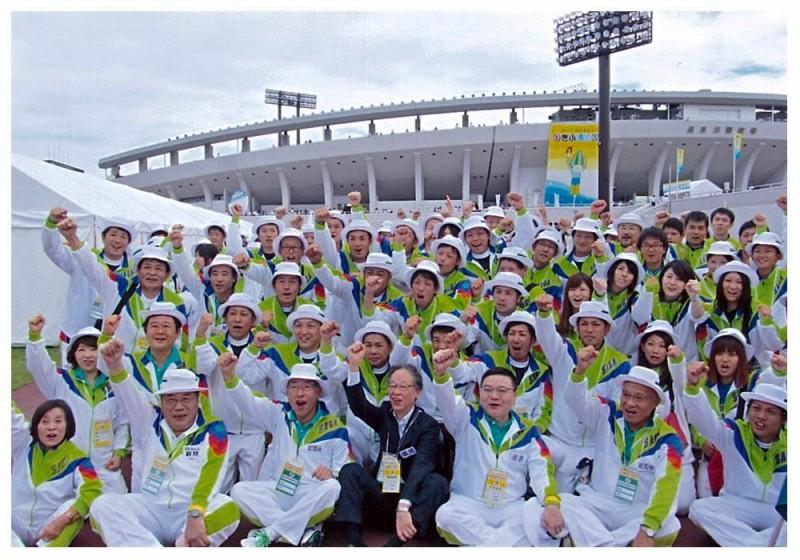 2012年9月29日 岐阜国体選手団への激励