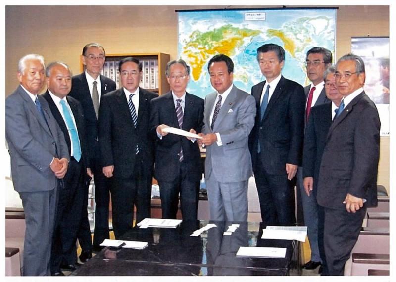 2012年11月6日 財政基盤強化連絡協議会総会及び要望活動