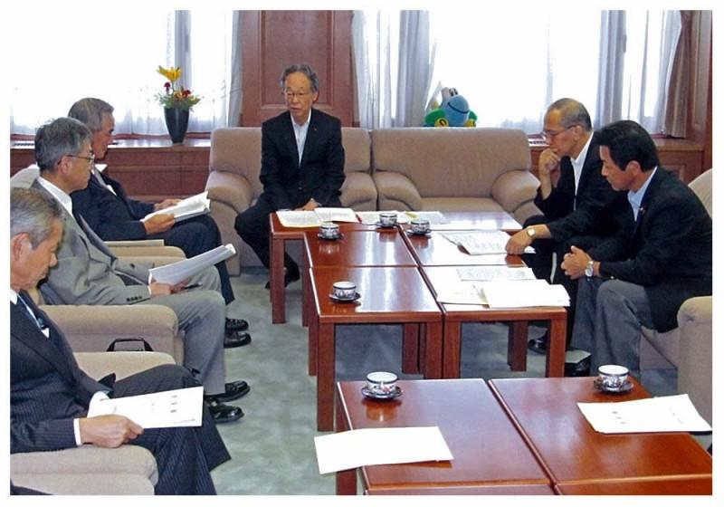 2012年9月26日 佐賀県商工会議所連合会からの要望