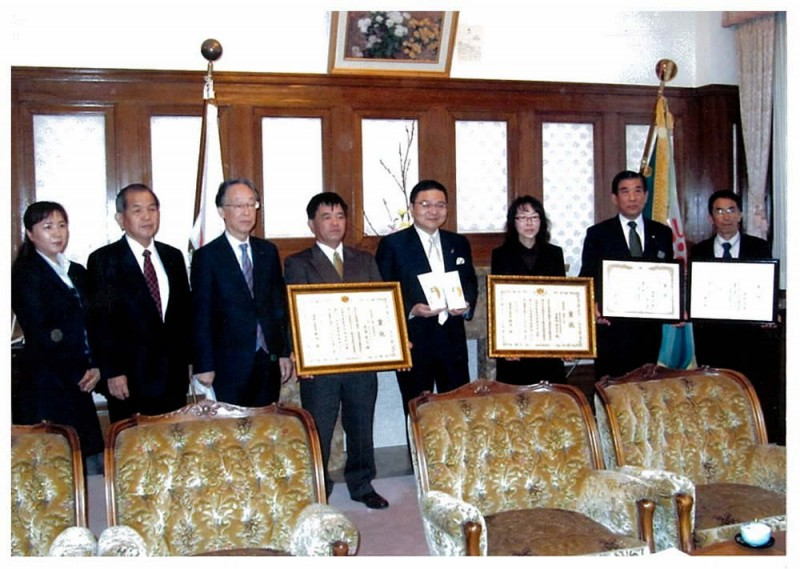 2012年11月26日 全国茶品評会受賞報告