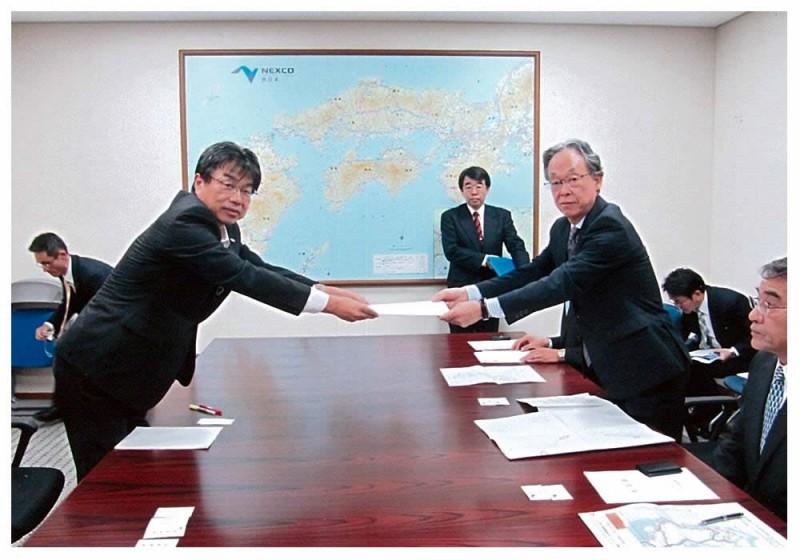 2012年10月17・18日 九州議長会要請活動
