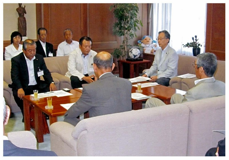 2012年8月21日 西九州道建設促進協議会からの要望