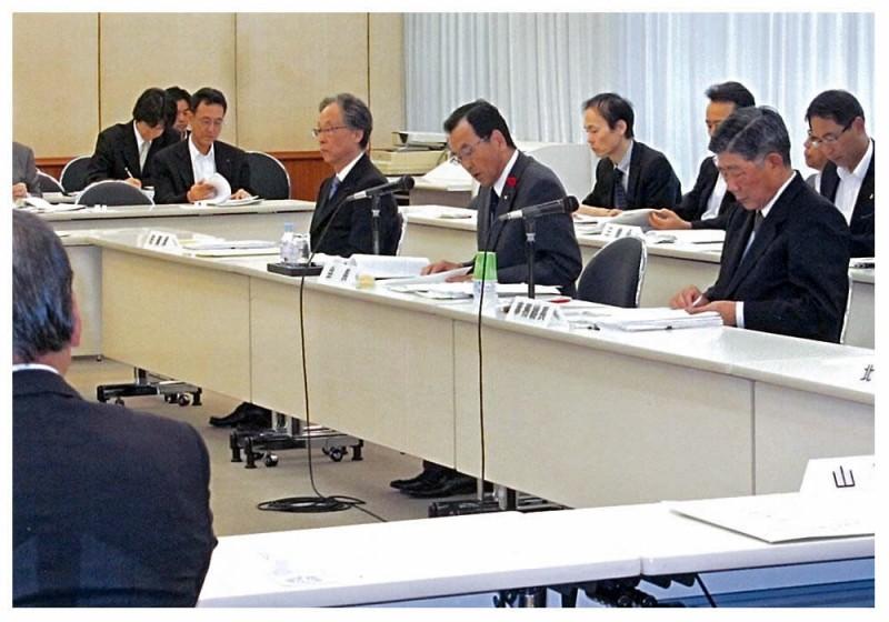 2012年10月11日 全国議長会役員会
