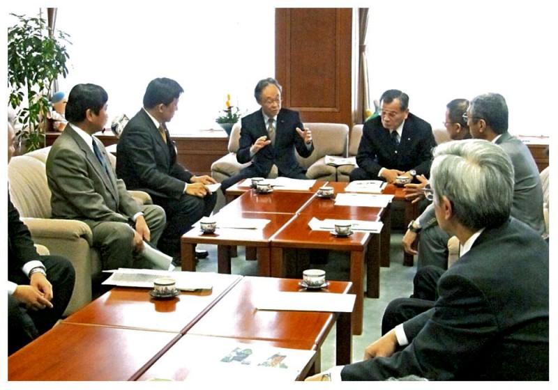 2012年3月30日 女山トンネル期成会からの要望
