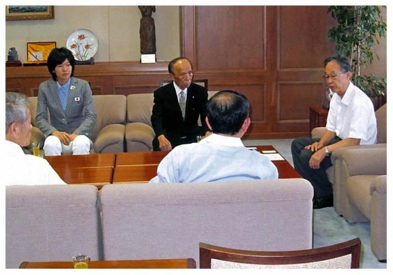 2012年8月17日 濱田選手オリンピック出場報告