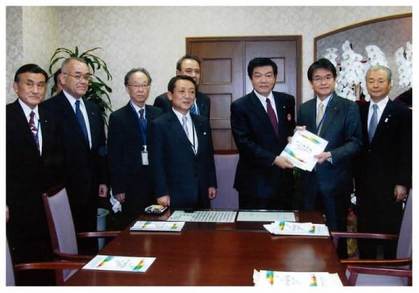 2013年1月17日 整備新幹線5線中央要請活動