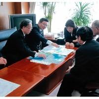 2013年1月7日 諫干開門調査早期実現に関する要請活動