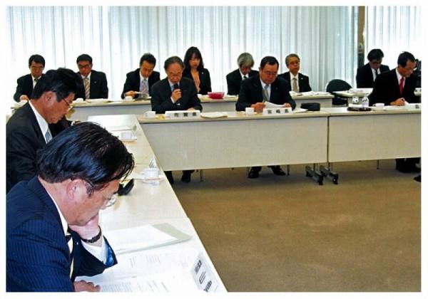 2013年1月24日 全国議長会役員会・定例総会
