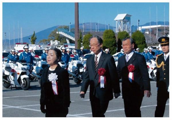 2013年1月11日 県警年頭視閲式