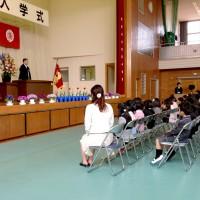 嬉野小学校入学式