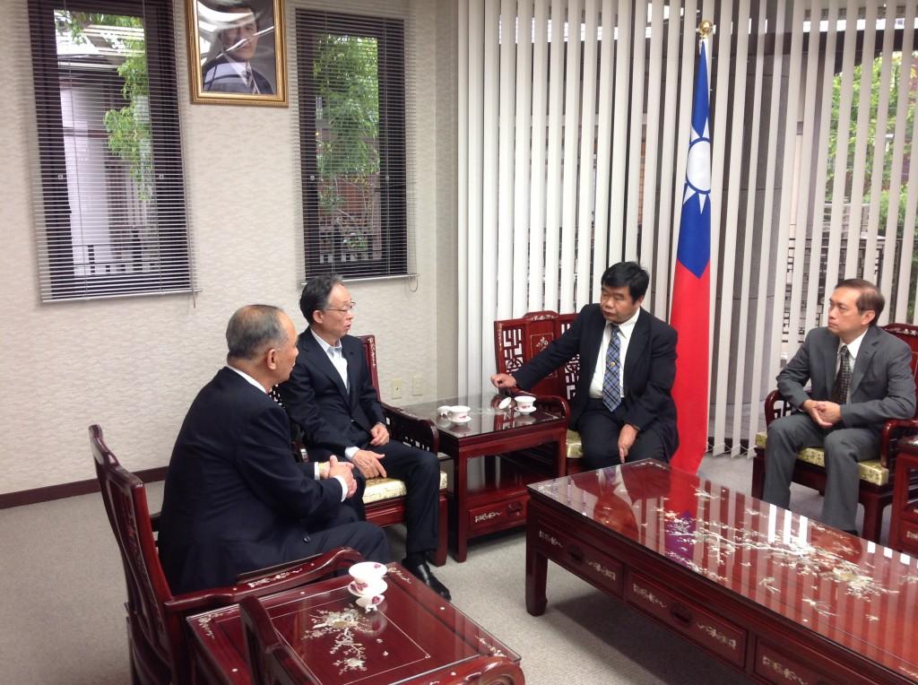 台湾訪問の報告