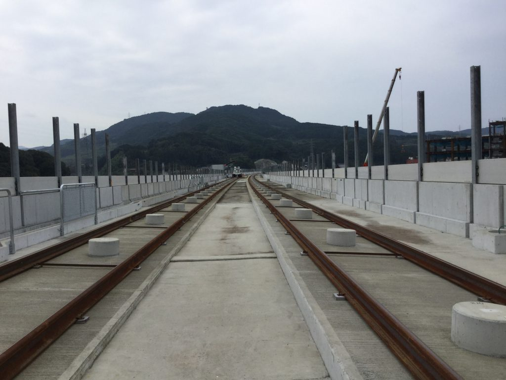2018年10月10日 九州新幹線(西九州)嬉野温泉(仮称)駅 視察